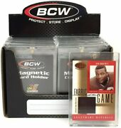 Bcw 100pt Magnetic One-touch Card Holders X16 Pc Per Box