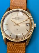 Girard Perregaux Richeville Yellow Gold 39 Jewels Vintage With Calendar 691