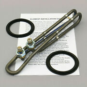 Hot Tub Heater Element Spa Heating Coil 5.5kw Titanium 9.9 230/115v Gaskets New