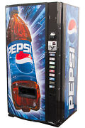 Dixie Narco 501e Soda Vending Machine Cans And Bottles Pepsi Free Shipping