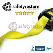 For Porsche Yellow Seat Belt Replacement Service - Change Seat Belt Color