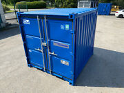 7ft X 8ft - Containex Storage Container | Steel Store | Light | Heater |lock Box