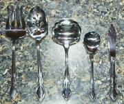 Oneida Stainless Dover Serving Set, Lot Of 5