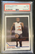 Usain Bolt 2008 Sports Illustrated For Kids Rookie Rc 294 Psa 8 Nm-mint Olympic