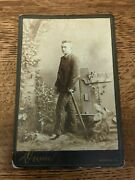 Civil War Soldier - Cdv - Identified Canfield Oh