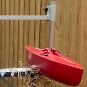 2 Canoe Stabilizer Floats And Arms With Square Posts - More Convenient And Secure