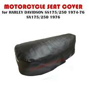 Motorcycle Seat Cover Harley Davidson Ss175 Ss250 74-76 Sx175 Sx 250 1976 600mm