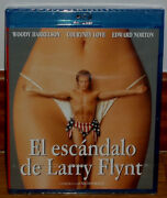 The Scandal Of People Vs Larry Flynt Blu-ray New Sealed/biography No Open R2