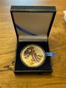 2001 American Silver Eagle Colorized And Enameled