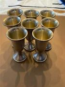 Web Sterling Cordial Glasses Set Of 8
