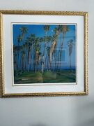 Rod Goebel, Palms - Taos Six Society Of Artists, 1946-1993 Signed Number 254/300