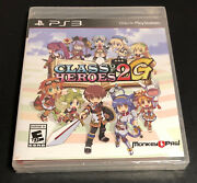 Class Of Heroes 2g B Variant Brand New Factory Sealed Playstation 3 Ps3