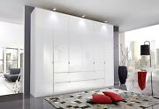 Quality Mobel German Wardrobe Bedroom White Black Grey High Gloss Fitted Free