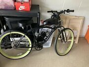 Motorized Vintage Bicycle Custom Build Runs Great Pedal Or Engine Options See