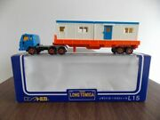 Isuzu V12 House Trailer L15 Tomy Tomica Container Removable Jp T31 Scale 1/100