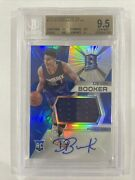 Devin Booker 2015 Panini Spectra Rc Patch Jersey Auto Rpa Suns 112 Bgs 9.5/10