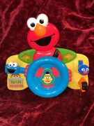 Fisher-price Sesame Street Giggle And039n Go Driver - Elmo Discontinued