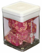 Diffusion Dice - Set Of 15 - Rose Gold