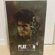 Hot Toys Mms135 1/6 Platoon Chris Taylor Mint Rare From Japan