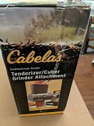 Cabela's Commercial Grade Meat Tenderizer/cuber Attachment Opened Box