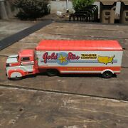 Marx Gold Star Transfer Company Truck And Trailer