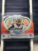 2020 Chronicles Tee Higgins Rc Crown Royale Auto /49