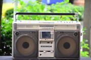 Sharp Mixing Boombox The Searcher Gf-505st Stereo Good Product Condition Moving