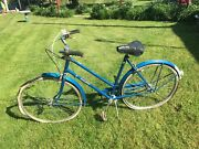Vintage Raleigh Girls Sports Bicycle 19.5 Frame 1970s 3 Speed Archer Gears