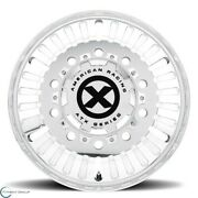 Set Of 2 New Atx Series Ao403 Roulette 22.5x8.3 10x285.75 91 Polished - Front