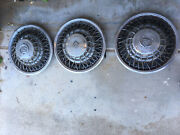 1980 Cadillac Seville 3 Wheel Covers 15andnbsp