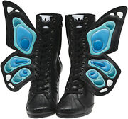 2012 Adidas Jeremy Scott Js Wings Wedge Butterfly Uk6 Us75 Boots G61078 Tongue