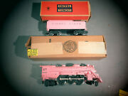 Scarce Original Lionel 2037-500 Locomotive And 1130t-500 Tender From Girlsand039 Set
