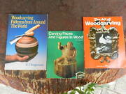 Woodcarving Faces And Figures Wood Lot Art Carved Book Tool Hobb Patterns World