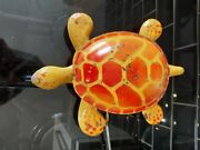 Vintage 1950's Mobo Tin Plated Tortoise Toy-toise Childs Toy For Restoration