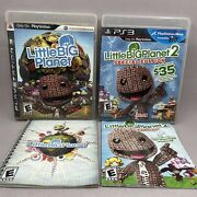 Little Big Planet 1 And 2 Special Edition 2 Game Lot Sony Playstation