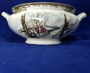 Johnson Brothers Friendly Village Sugar Maples Soup Tureen As Is No Lid