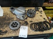 2001 Bombardier Ds650 Clutch Basket Cover Plates Hub 21000-2 Minor Damage