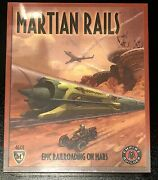 Mayfair 2009 Martian Rails Empire Builder Game New In Box Sealed Small Parts