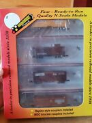 N Scale Roundhouse Bando Freight Four-pak Baltimore And Ohio New In Box
