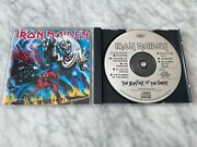 Iron Maiden The Number Of The Beast Cd Early Press Capitol Oop Bruce Dickinson