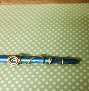 Handmade 14 Inch Wiccan Spiral Wand Witchcraft Neopaganism Magick Occult