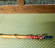 Handmade 14 Inch Wiccan Copper Wrap Wand Witchcraft Neopaganism Magick Occult