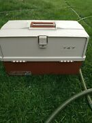 Plano 747 Nice Vintage Large Tackle Box Great Condition