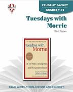 Tuesdays With Morrie - Student Packet By Novel Units By Novel Units Paperback