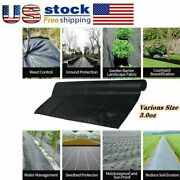 3pack Hgmart Weed Barrier Fabric Landscape High-quality Various Sizes3.0ozus