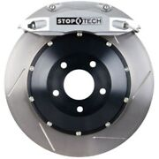 Stoptech 83-658005861 Rear Big Brake Kit 380mm X 32mm 2 Piece Slotted Rotors Sil