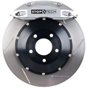 Stoptech 83-b38005861 Rear Big Brake Kit 380mm X 32mm 2 Piece Slotted Rotors Sil