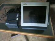 Lot Of 4 Micros Workstation System 400448 099 Touch Screen