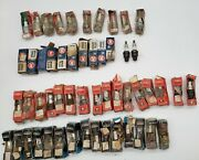 Vintage Lot Of 53 Nos Spark Plugs - Rusted - Ac, Western Auto, Wizard, Champion