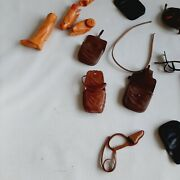 Vntg Lot Marx Best Of West Johnny West Accessories And Parts